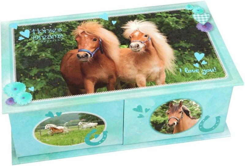 Horses Dreams Sieradendoos Blauw