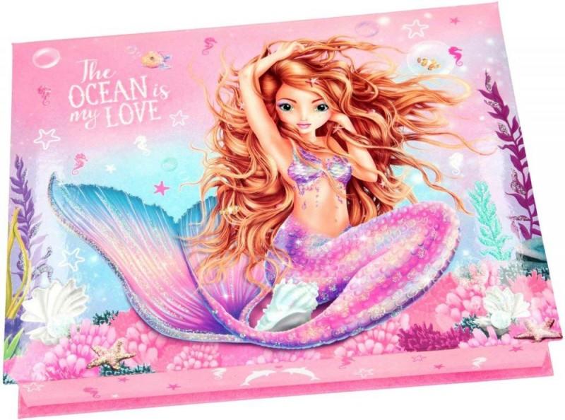 Topmodel Fantasymodel Doos Met Schrijfwaren Zeemeermin