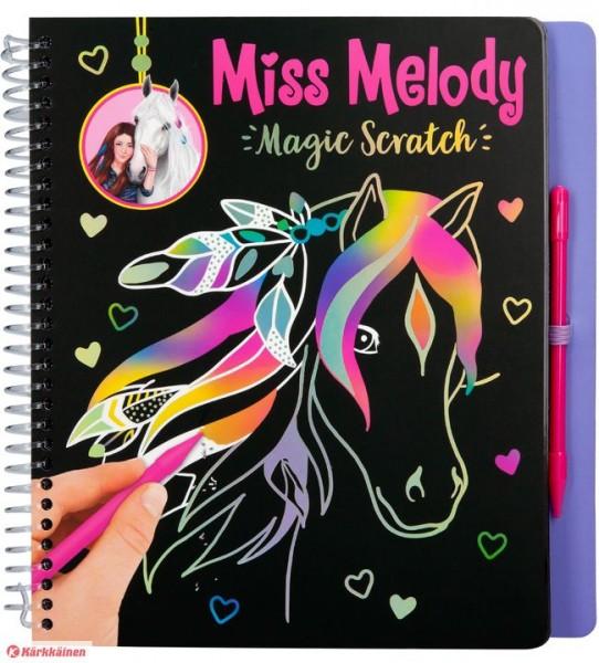 Miss Melody Magic-Scratch Book