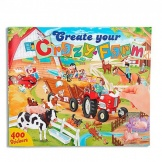 Create Your Crazy Farm Tekenboek