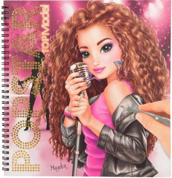 Topmodel Popstar Drawing Book