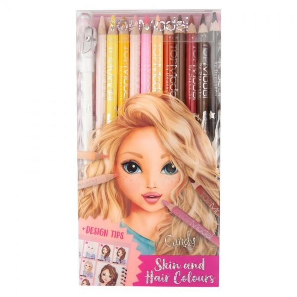 TopModel Kleurpotloden Huid- en Haartinten