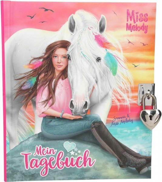 Miss Melody Dagboek Motief 2 Blauw