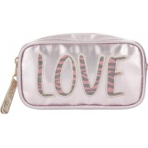 Topmodel Etui/Make-uptasje LOVE Roze