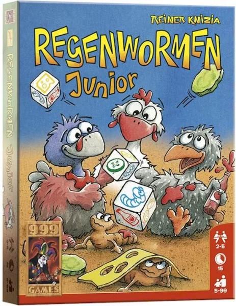 Regenwormen Junior kaartspel