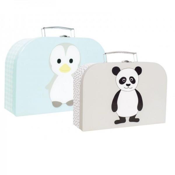 Jabadabado Kofferset (Pingun/Panda)