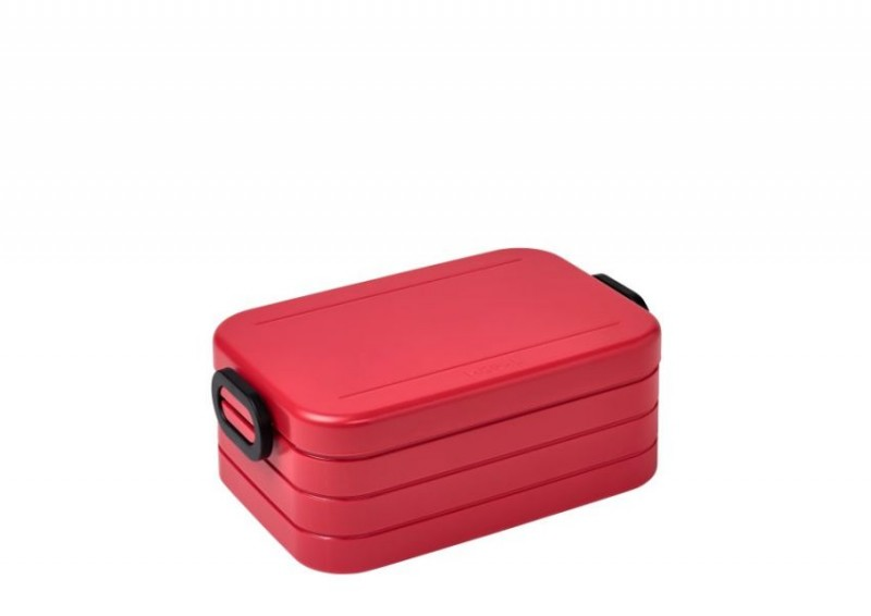 Mepal Bento Lunchbox Take a break midi nordic red