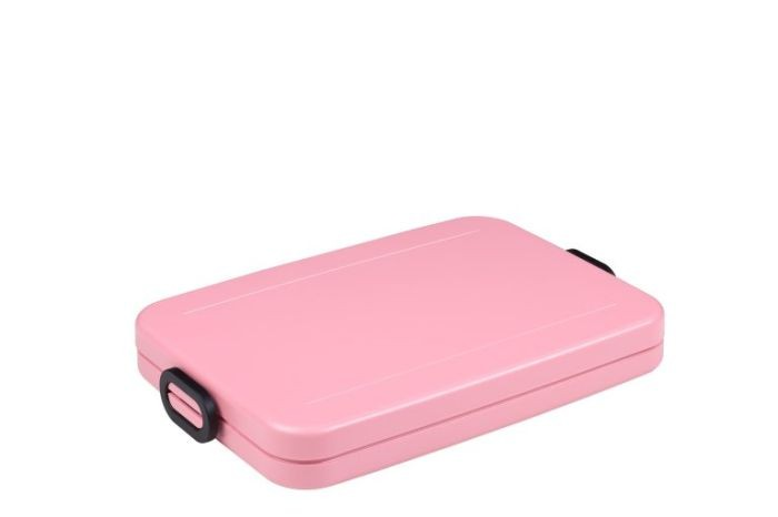 Mepal Lunchbox Take A Break Flat Nordic Pink