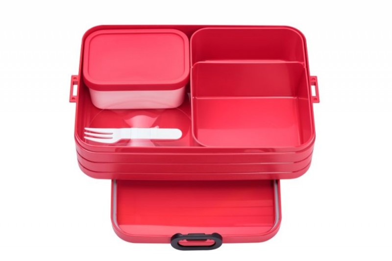 Mepal Bento Lunchbox Take a break L nordic red
