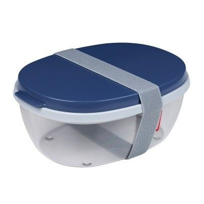 Mepal Salade box Ellipse denim