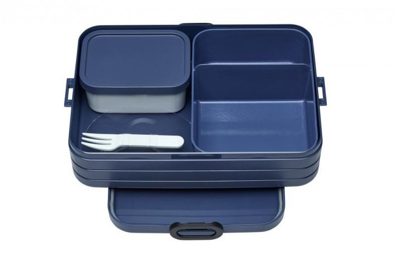 Bento Lunchbox Take A Break Nordic Denim