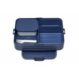 Bento Lunchbox Take A Break Nordic Denim