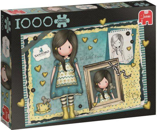 Jumbo Puzzel Gorjuss The Little Friend Premium Quality (1000)