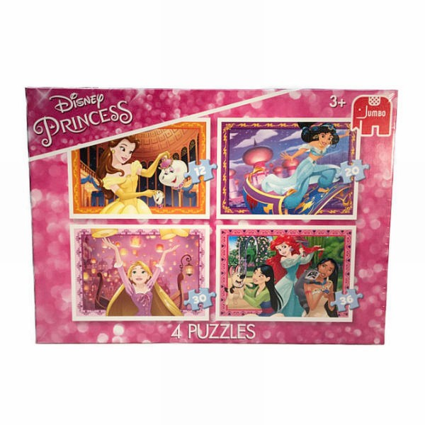 Jumbo Disney Princess 4In1 Puzzel