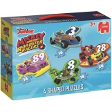 Jumbo Disney Mickey And The Roadster Racers 4In1 Vormpuzzels