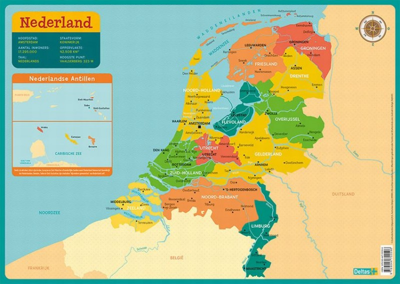 Nederland - Educatieve Onderlegger