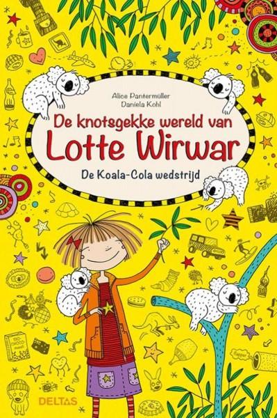Boek Lotte Wirwar De Koala-Cola Wedstrijd