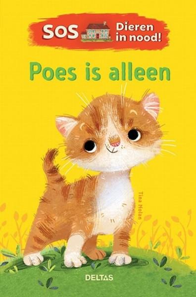 Boek S.O.S. Dieren in Nood! - Poes is Alleen
