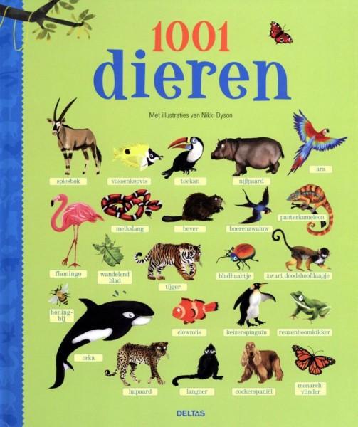 Boek 1001 Dieren