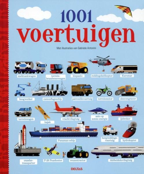 Boek 1001 Voertuigen
