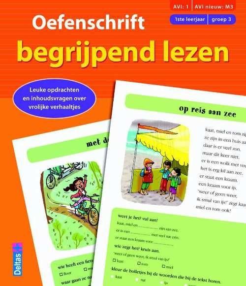 Oefenschrift Begrijpend Lezen 1e Leerjaar (Groep 3) M3