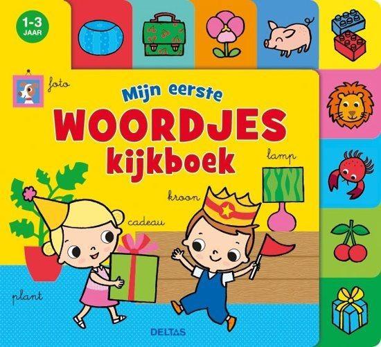 Boek Mijn Eerste Woordjes Kijkboek (1-3 jaar)