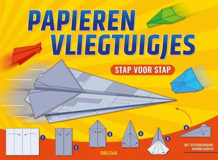 Boek Papieren Vliegtuigjes