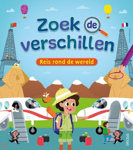 Boek Zoek de Verschillen - Reis Rond de Wereld