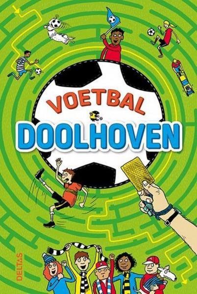 Boek Voetbal Doolhoven