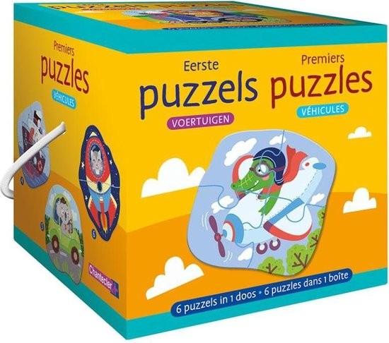 Eerste Puzzels: Voertuigen (6 stuks)