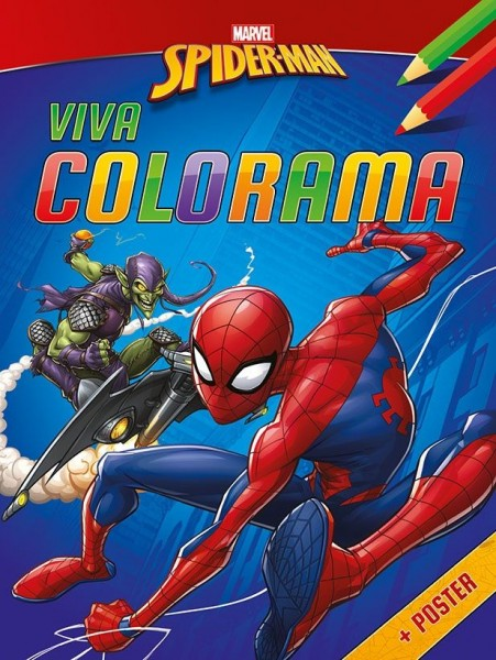Spider-Man Viva Colorama Kleurblok met Poster