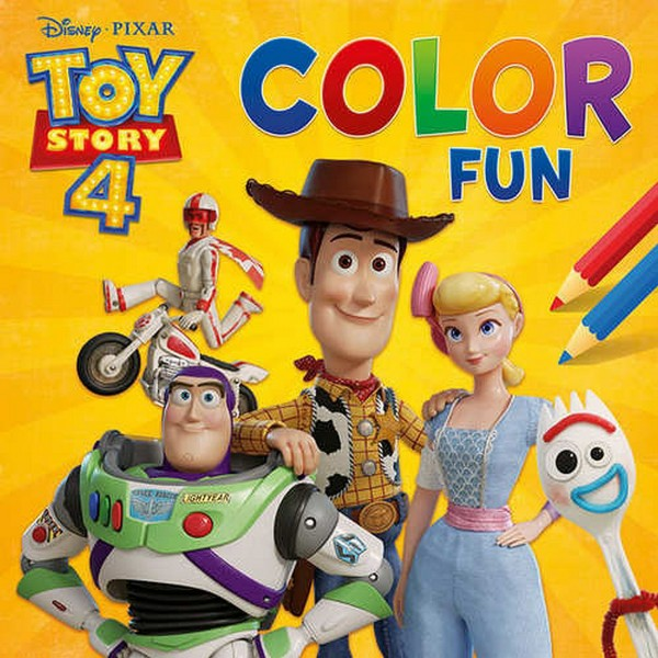 Disney Color Fun Toy Story 4