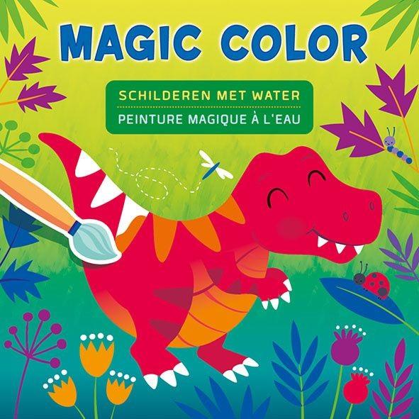 Boek Magic Color Dino's Schilderen met Water