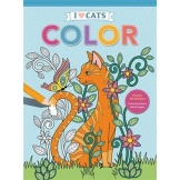 Kleuboek I Love Cats Color