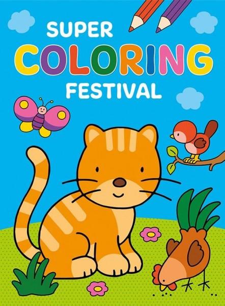 Super Coloring Festival Kleurboek