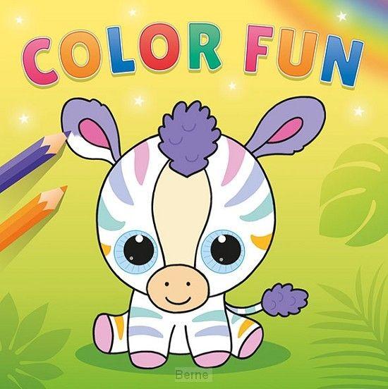 kleurboek Knuffels Color Fun