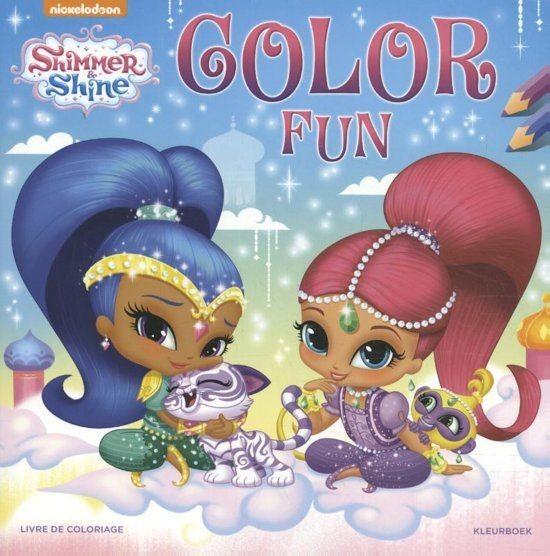 Shimmer And Shine Kleurboek Color Fun