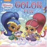 Shimmer And Shine Kleurboek Color Fun
