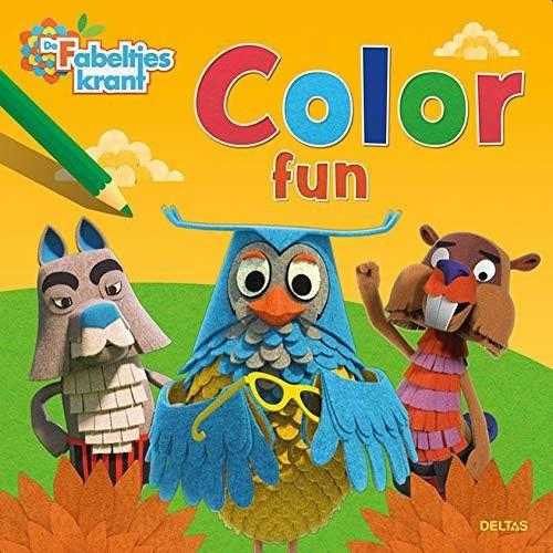 Boek De Fabeltjeskrant Color Fun