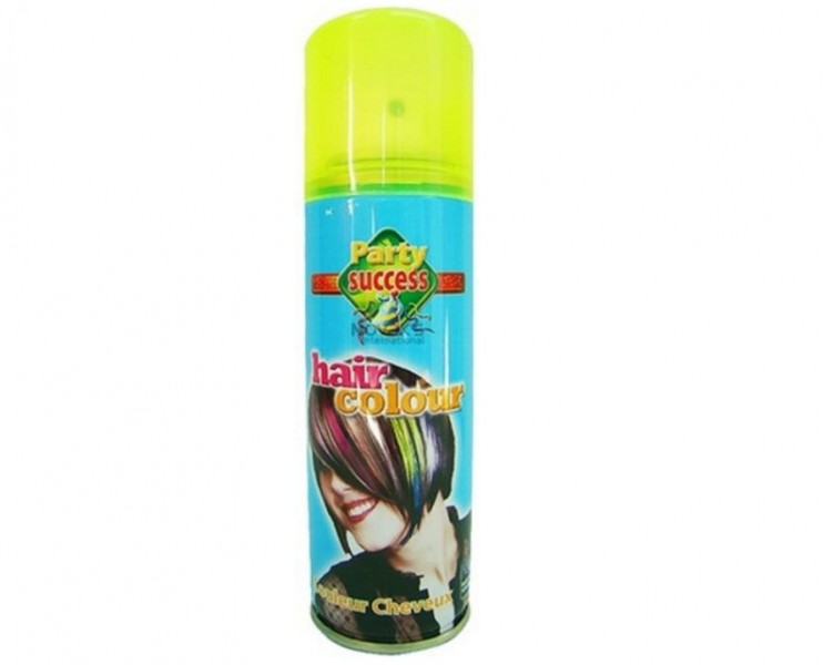 Haarspray 125ml Kleur Fluoriserend Groen